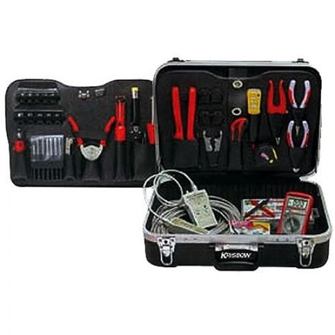 Daftar Multimeter Krisbow jual krisbow kw0101093 network termination tool kit 81pcs