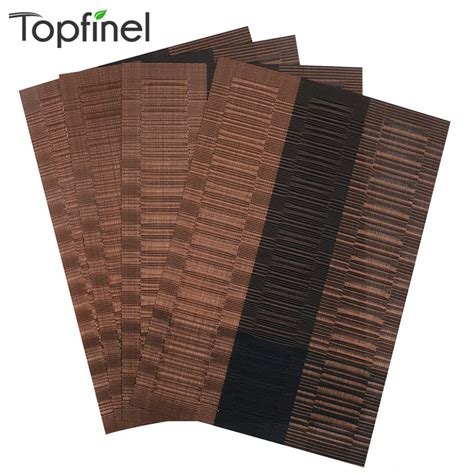 Best Place Mats by Top Finel Pvc Placemat For Table Mat Pad Drink Wine