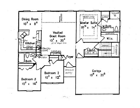ranch with finished basement house plans home design and