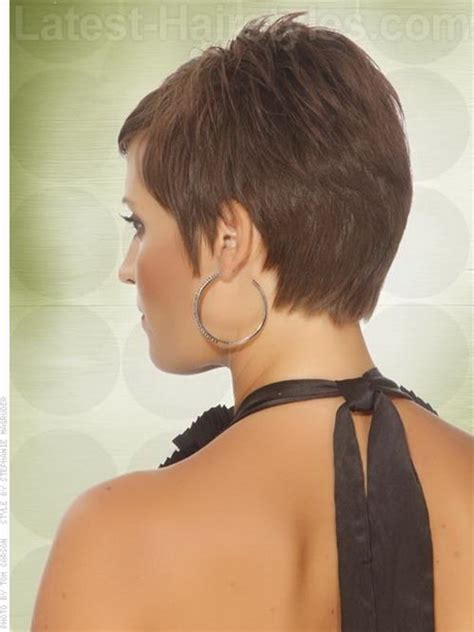 pictures of back pixie hairstyles back view of pixie haircut