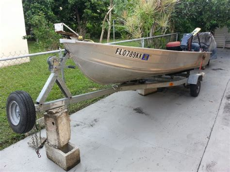 boat trailer parts hialeah 14 foot boat with new trailer trolling motor and 8hp