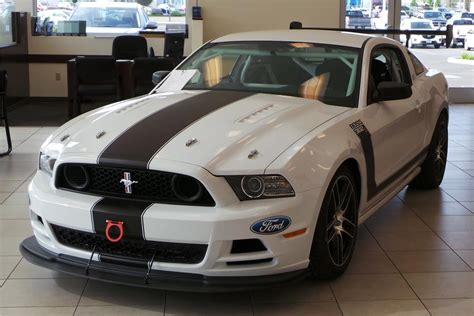 Black And White Interior by 2014 Ford Mustang Boss 302 Race Car 181470