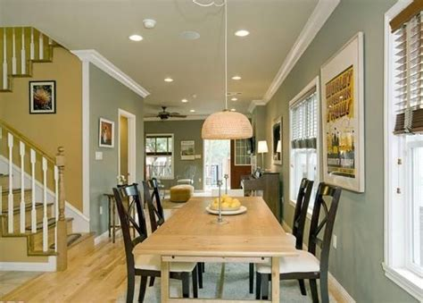 Paint Ideas For Open Floor Plan | open floor plan kitchen living room paint colors home