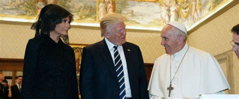 trump pope francis gifts trump and pope francis exchanged including the
