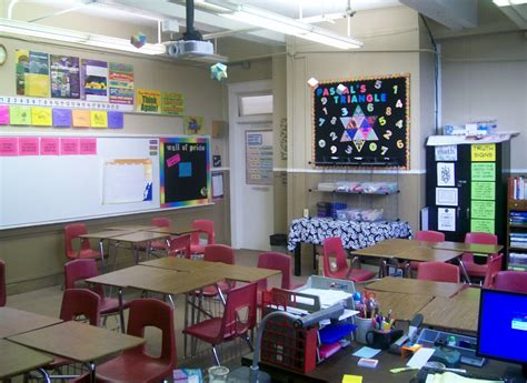 middle school math classroom decor 1000 ideas about