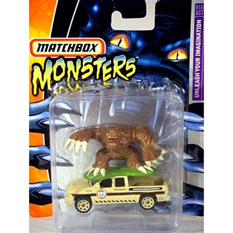 matchbox chevy silverado ss matchbox monsters series chevrolet silverado ss pickup