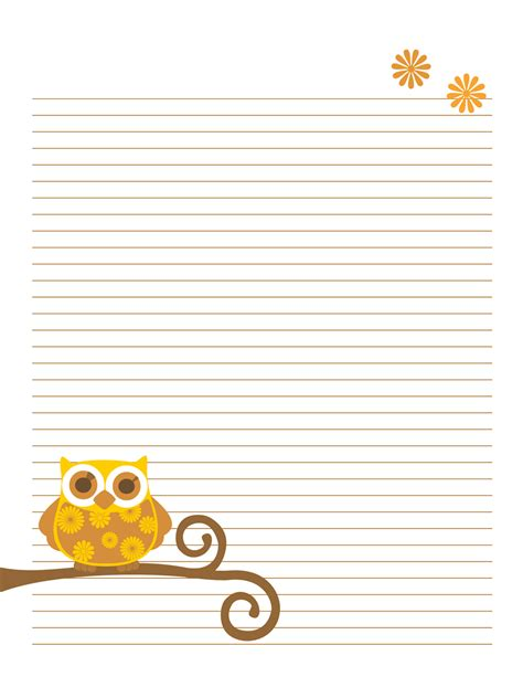 printable notepad writing paper 8 best images of printable notebook pages free printable