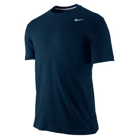 T Shirt Navy Nike 6 0 nike s dri fit sleeve t shirt obsidian navy