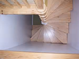 timber spiral stairs attic designs
