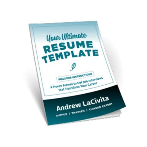 Resume For First Job Examples by How To Build The Ultimate Professional Resume By Andrew