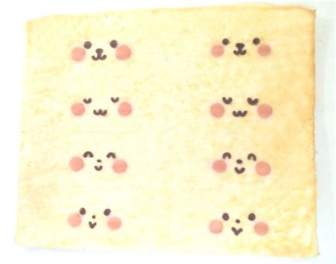 Roll Cake Rabbit bunny deco japanese sponge roll cake patterned cakes and
