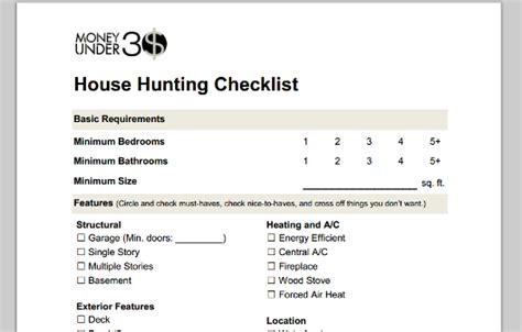 getting a mortgage for a house that needs work home buying checklist