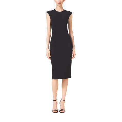 Cap Sleeve Sheath Dress michael kors stretch wool crepe cap sleeve sheath dress in