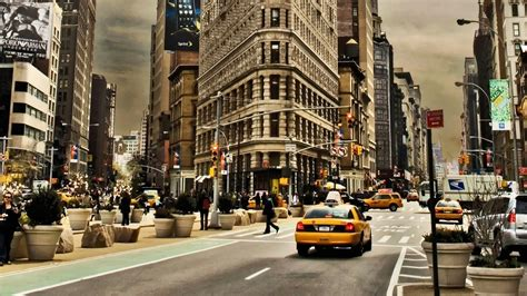 New York by New York Wallpapers Pictures Images