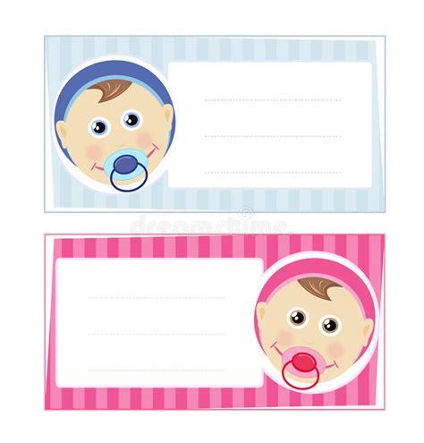 clipart neonato disegno di scheda della neonata e neonato