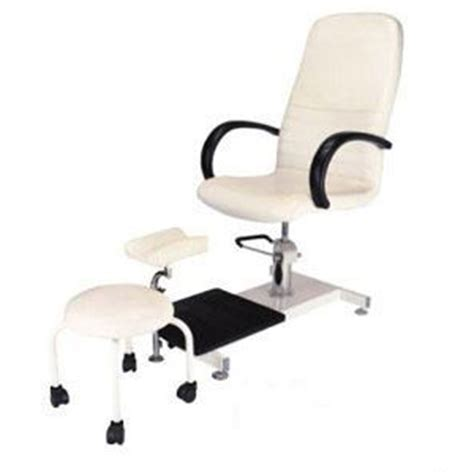 Pedi Stool With Footrest by Pedicure Combo Includes Pedicure Chair Foot Rest And