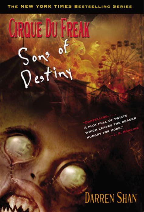sons books sons of destiny cirque du freak 12 by darren shan
