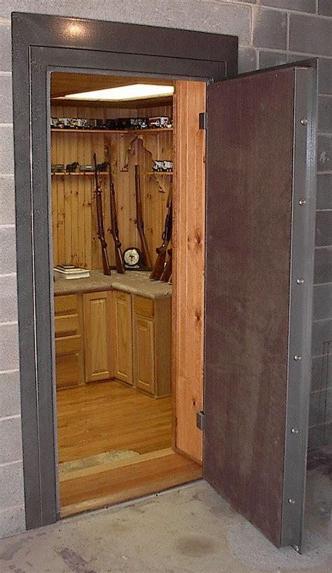 Convert Closet To Safe Room by Collins Vault Door Stashvault