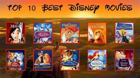 film disney best top 10 favorite childhood disney movies by