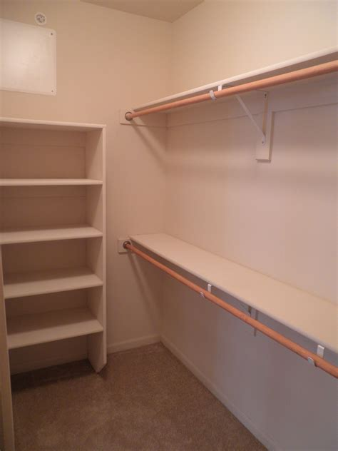 Where To Buy Shelves For Closet by Walk In Closet Shelving Details Closet