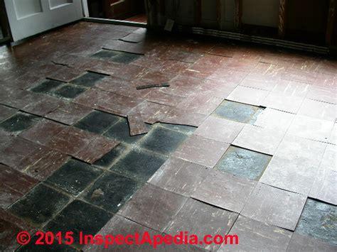 asbestos floor tiles asbestos flooring hazard levels