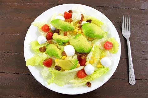 delicious pasta salad with avocado dressing maya kitchenette avocado and fresh mozzarella salad maya kitchenette
