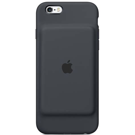 apple iphone 6 6s smart battery charcoal gray mgql2ll a
