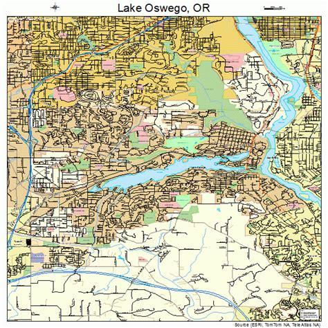map of oregon lake oswego lake oswego oregon map swimnova