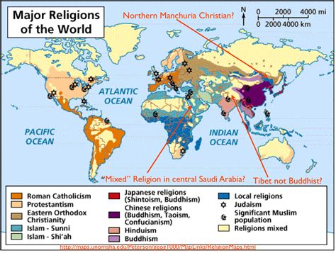 How To Find In The World The Difficulties Of Mapping World Religions And A Most Map