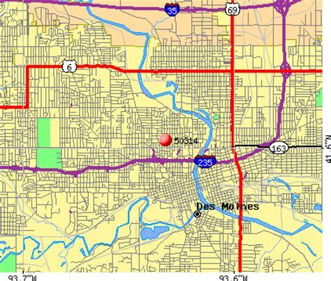 zip code map des moines 50314 zip code des moines iowa profile homes