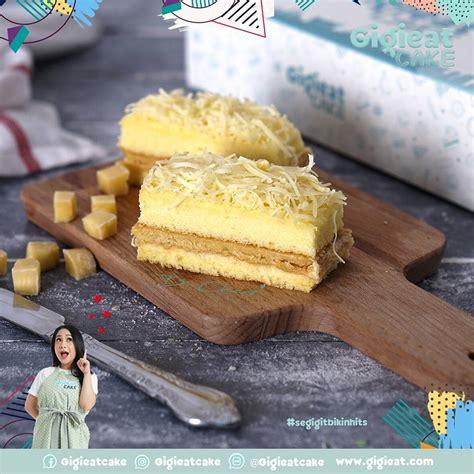 Kue Satu Cap Ed gigieat cake oleh oleh kue kekinian nagita slavina dan raffi ahmad