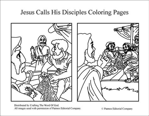 coloring pages jesus fish disciples 191 best images about 12 disciples on