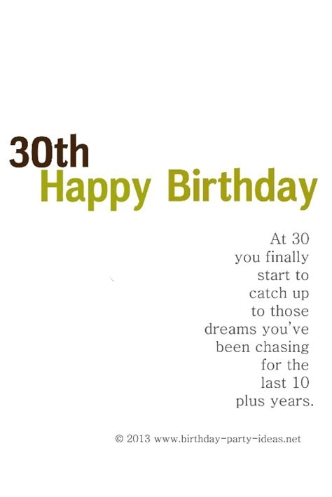 30 Years Birthday Quotes Funny Birthday Quotes For Friends Turning 30 Image Quotes