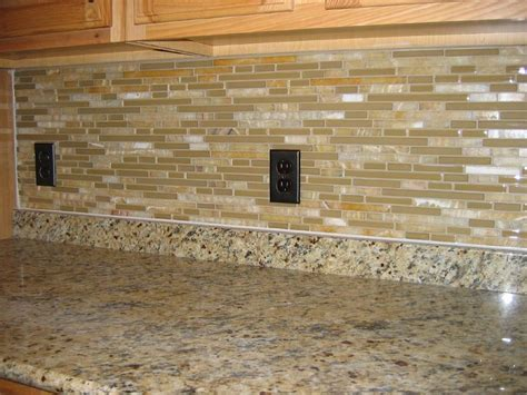 ceramic subway tiles for kitchen backsplash simple kitchen with brown glass subway tile backsplash