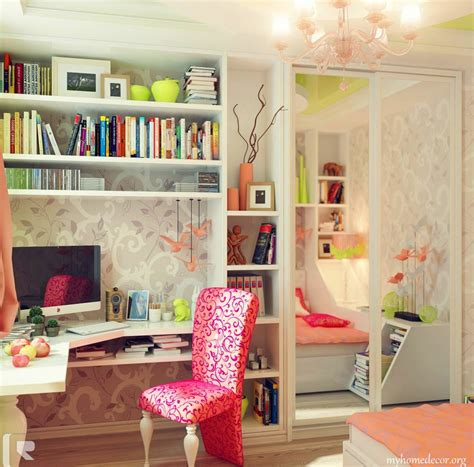 bookshelf ideas for small rooms decoration ideas impressive girls bedroom with wall