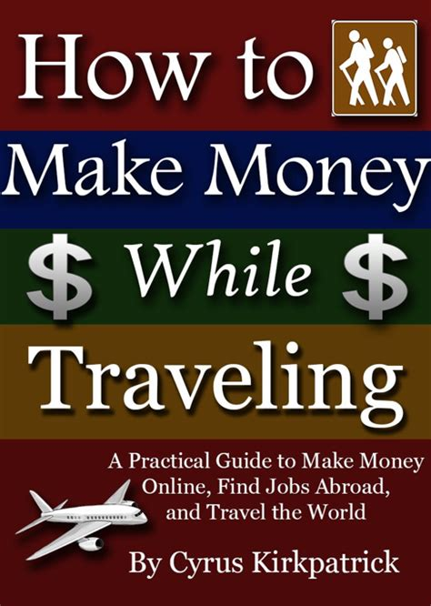 Make Money Online Book - how to make money while traveling a new book