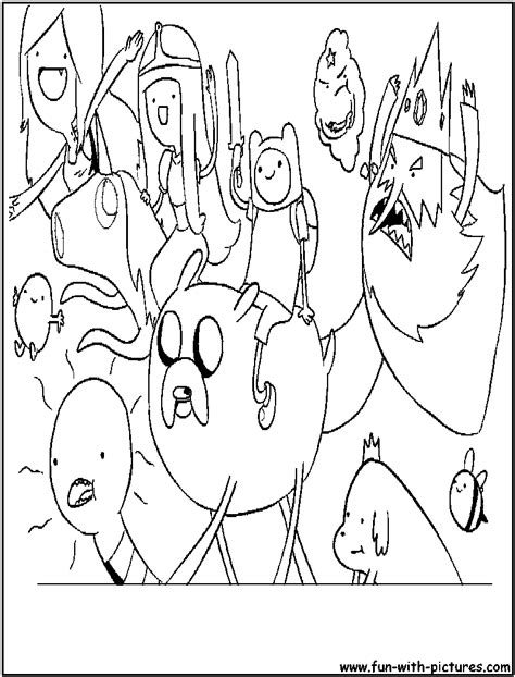 adventuretime chibi coloring page