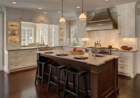 two tone shaker kitchen cabinets heidi piron design and cabinetry two tone kitchen with