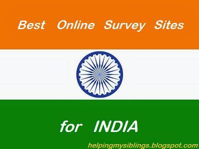 Best Online Survey Sites For Money In India - legitimate online survey websites for india with this you