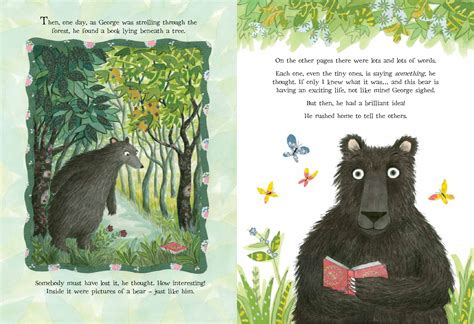 bears dont read b00k4qdhe6 art from emma chichester clark s bears don t read illustrazioni chichester