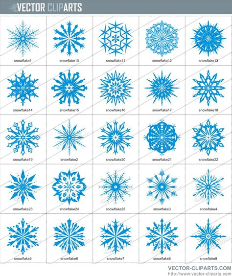 snowflake pattern clipart free snowflake patterns clipart 34