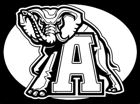 Alabama Football Coloring Page Az Coloring Pages Alabama Football Coloring Pages