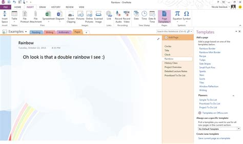 templates for onenote 2013 top 10 things you didn t about onenote office blogs