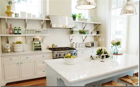 Kitchen Open Shelving by Open Shelving In Kitchens Pearls To A Picnic