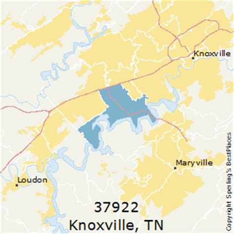 zip code map knox county tn best places to live in knoxville zip 37922 tennessee