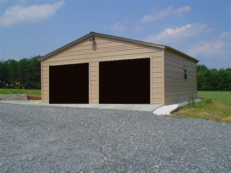Steel Buildings Garage by Garage Metal Steel Buildings