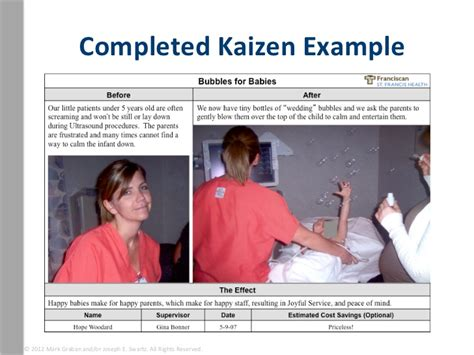 kaizen what is it definition exles and more completed kaizen exle 169 2012