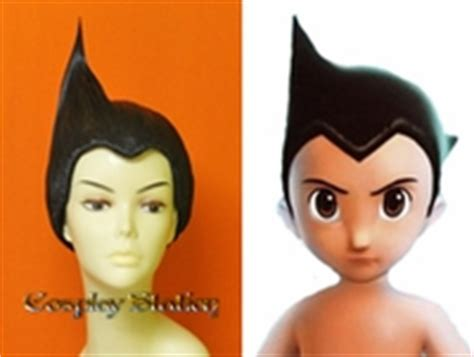 astro boy hair or helmet cosplay wigs our cosplay wig made of high quality