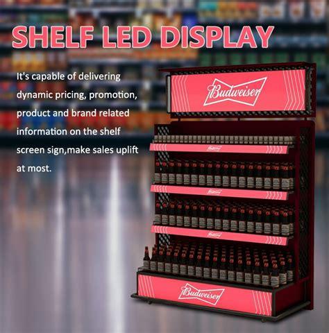 led display  supermarket shelf