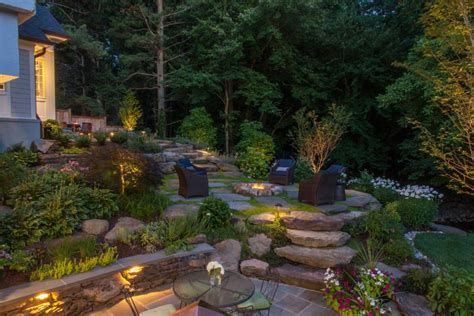 the landscape lighting company irrigation outdoor lighting in northern virginia vienna landscaping